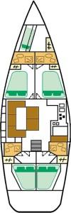 beneteau-50-plan-jachtu