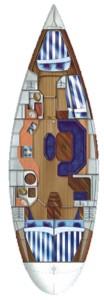 dufour-45-classic-plan-jachtu