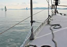 jacht-dziob-lina-roler-genaker-regaty-chorwacja