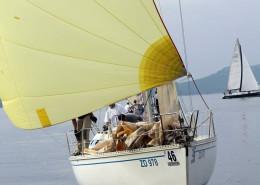 jacht-zagle-wiatr-dziob-chorwacja-regaty-zadarska-koka-2013